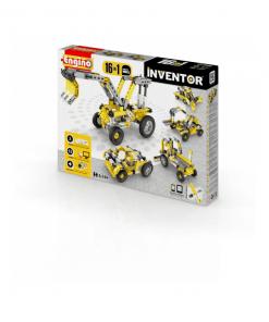 obal stavebnica inventor 16 modelov priemyselné stroje