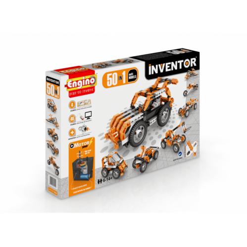 obal stavebnica inventor 50 modelov motorizovaný set