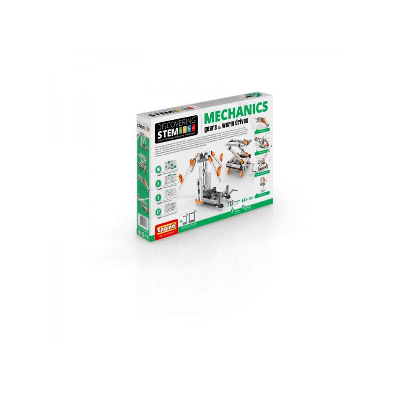 stem mechanika: ozubené prevody a závitovkové pohony