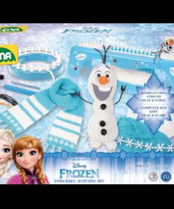 pletenie ľadové kráľovstvo