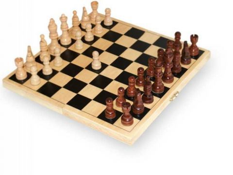 drevené šachy small foot