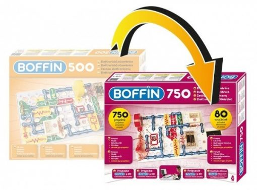 boffin 500 rozšírenie na 750